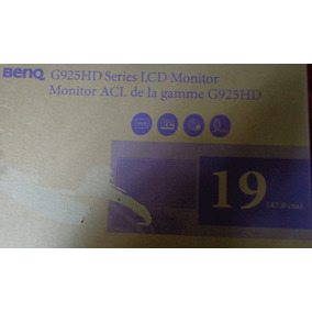 Monitor Benq G925 Hd Series Lcd19