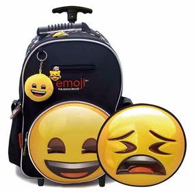 Mochila Carro Emoji 3d 16 Tt874 - Jugueteria Aplausos