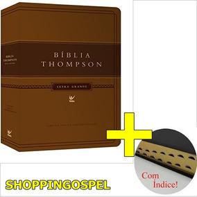 Bíblia De Estudo Thompson 17 X 25 Letra Grande Com Índice