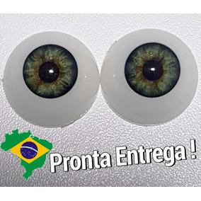 Olhos Verdes Bebe Reborn 24 Mm *importado & Novo* Sd04