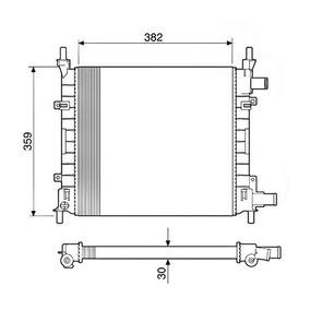 Radiador Agua Ford Ka 1.0 1.3 Endura 97-99 12585