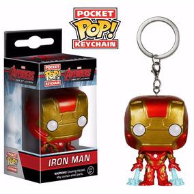Funko Pop Pocket Homem De Ferro Chaveiro Marvel Ironman