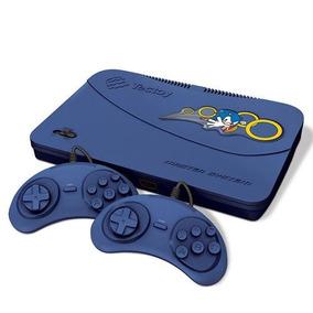 Master System Tectoy 132 Jogos Na Memoria Evolution Blue