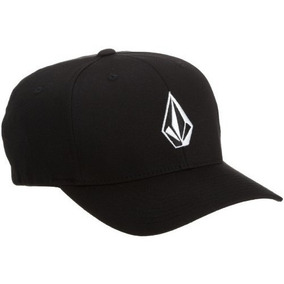 Gorra Volcom Hombres De Full Piedra Flexfit Hat Negro, Larg