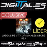 Killzone Mercenary Ps Vita Solo Cuentas De Usa - Digittales