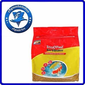 Ração Tetra Pond Koi Vibrance 25l 3,8kg - Bag Para Aquários
