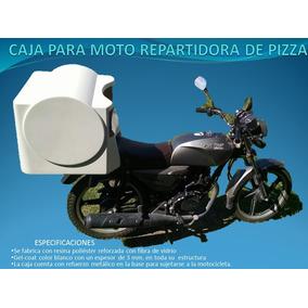 Caja Para Moto Repartidora De Pizza