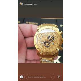 Relógio Bvlgari Aço E Ouro - Joias e Relógios no Mercado Livre Brasil ed06a08353