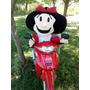 Muñeca Mafalda Gigante 1metro Quino Historieta Tela