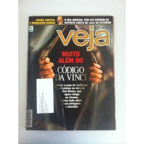 Revista Veja Nº 1956 Código Da Vinci Dan Brown Daniel Dantas