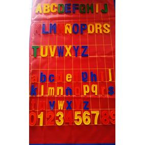 Juguete Didáctico Niños Letras Números Signos 264 Piezas Gde