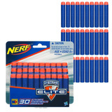 Repuesto 30 Dardos Nerf Elite N-strike Opriginal Hasbro