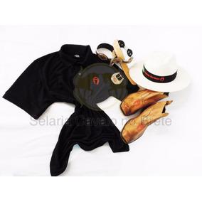 Conjunto Oferta Botina +camisa +chapéu Manga Larga + Brindes