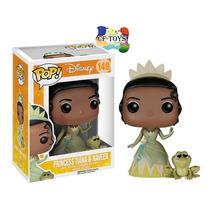Tiana Y Naveen Funko Pop Pelicula Disney Princesas Cf
