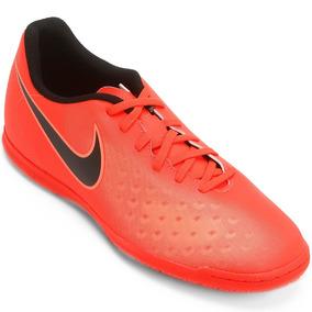 Chuteira Futsal Nike - Chuteiras Nike de Futsal Laranja no Mercado ... 79db341fda16f