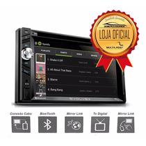Dvd Central Multimidia Universal Multilaser 2 Din Gps Tv Usb