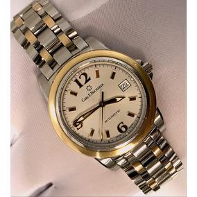 595d303fbe4 Relogio Bucherep Feminino Em Ouro Quadrado - Relógios no Mercado ...