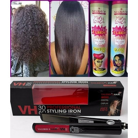 Chapinha Valeries Hair 3060 + Progressiva Mina Louca Nuance