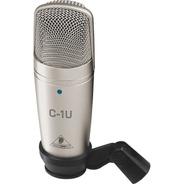 Microfono De Condensador Usb Behringer C-1u Meses S/i