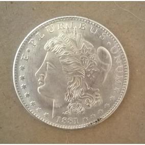 Early Silver Morgan Dollar 1881