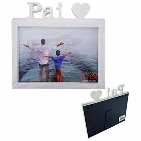Porta Retrato Dia Dos Pais Horizontal 20x15 - Frete Grátis