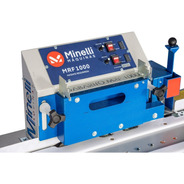 Refiladora Minelli De Bordas Mrf-1000 Com Polidor Marcenaria