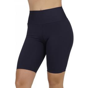 Bermuda Fitness Feminina Realtex- Preto Tamanho M f1fb3c536a697
