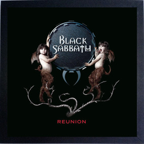 Lp Black Sabbath Reunion Quadro Capa Do Disco