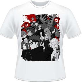 Camiseta Akatsuki Naruto Shippuden Itachi Camisa Anime Lee