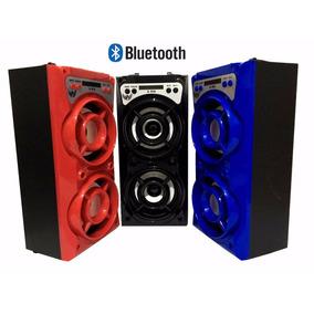 Caixa Som Bluetooth Selada Usb Amplificada Fm Sd Pen Drive