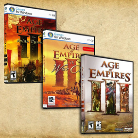 Age Of Empires 3 Complete Collection + Expansiones Español