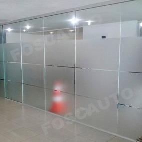 Adesivo Jateado Box Banheiro Janela Vidro Blindex 12m X 50cm