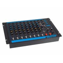Mesa De Som Mixer Oneal Omx8 8 Canais 1 Auxiliar Rca Bivolt