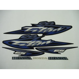 Kit Adesivos Honda Cg Titan 125 Es 2003 Azul