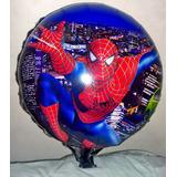 100 Balões Metalizados H. Aranha, Galinha, Minions, Ben 10,