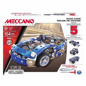 Meccano 16208 Set De 5 Modelos - Autos De Carrera