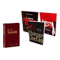 Kit Trilogia O Poderoso Chefão (3 Livros + 3 Dvds) #