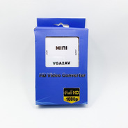 Mini Conversor Hd Exbom Video  Vga2av (full Hd 1080p) 3035