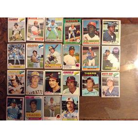 22 Tarjetas De Beisbol De Mexicanos Antiguas Diferentes