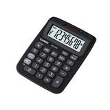 Mini Calculadora Casio De Mesa C/ Visor 8 Dígitos Preta