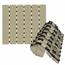 Piso Tapete Estrado Antiderrapante Para Box Ventosas Creme