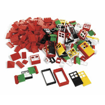 Tb Lego Education Doors, Windows & Roof Tiles (278 Pieces)