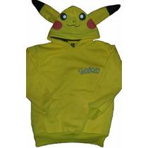 Campera Pikachu Buzo Pokemon Go Unisex Teens Alta Calidad