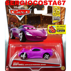 Disney Cars 2 Holley Shiftwell Electoshock Caixa De Brita