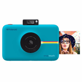 Cámara Instantánea Polaroid Snap Touch Blue - Dist. Aut.