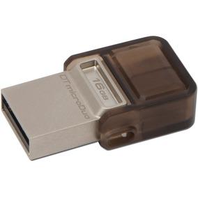 Pendrive Microduo Usb 16gb Kingston Dt Otg Tienda Oficial