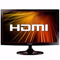 Monitor Led Lcd 19 Pulgadas Hdmi Samsung Garantia 3 Años Pce