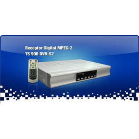 Receptor De Parabólica Satelite Hd Dvbs2 Hdmi Tecsys Ts900hd