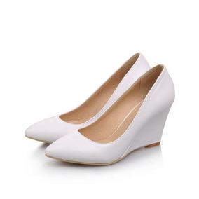 Sapato Anabela Feminino Egonery 45490 Importado Frete Grátis