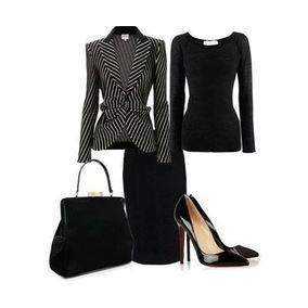 Saia+biusa+blazer Moda Evangelica E Executiva Cod#wqm